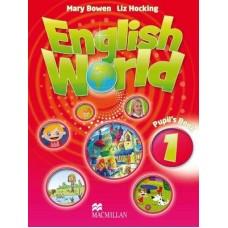 English World 1 Pupil's Book with e-book - CEFR - Pre-A1