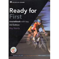 Ready for First Coursebook with Key 3rd Edition