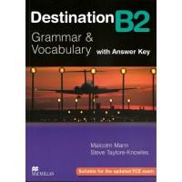 Destination B2 Grammar and Vocabulary with Answer Key