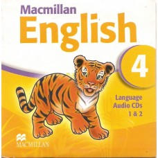 Macmillan English 4 Language Audio Cd
