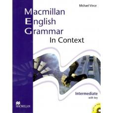Macmillan English Grammar in Context Intermediate Pack