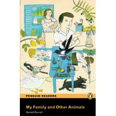 Penguin Readers Pre-Intermediate: My Family and Other Animals with Cd