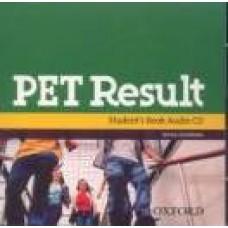 Pet Result Class Audio Cd