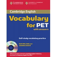 Vocabulary for Pet with Answers and audio CD