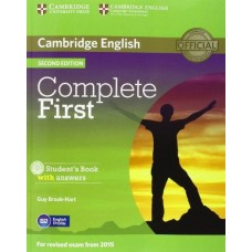 Complete First Certificate Student's Book with Answers and Cd-Rom