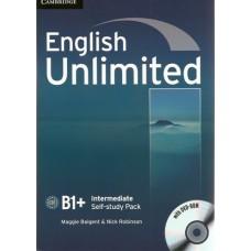 English Unlimited Intermediate B1+ Workbook with Dvd-Rom