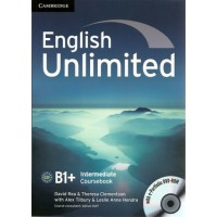 English Unlimited Intermediate B1+ Coursebook with E-Portfolio