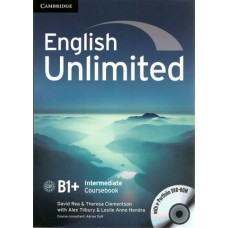 English Unlimited Intermediate B1+ Coursebook with E-Portfolio