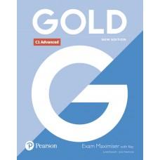 Gold C1 Advanced (CAE) Exam Maximiser with key revised 2021