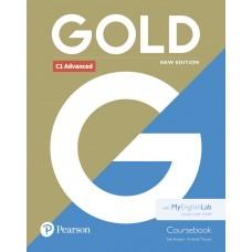 Gold C1 Advanced (CAE) Coursebook with MyEnglishLab revised 2021