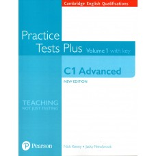 Cambridge English Advanced C1 - CAE - Practice Tests Plus 1 with Key