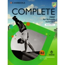 Complete First for Schools Teacher's Book B2