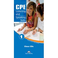 CPE ( Proficiency - C2 ) Listening and Speaking Skills 1 Class CDs (Audio Cd-uri)