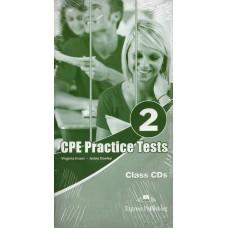 CPE ( Proficiency - C2 ) Practice Tests 2 Class CDs ( audio CD )