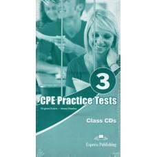 CPE ( Proficiency - C2 ) Practice Tests 3 Class CDs ( audio CD )