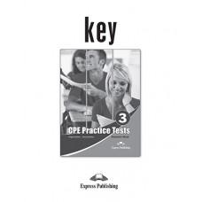 CPE ( Proficiency - C2 ) Practice Tests 3 Key ( raspunsurile )