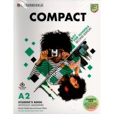 Compact Key for Schools Student's Pack ( (Student's Book without Answers with Online Practice and Workbook without Answers with audio download) 2nd Edition