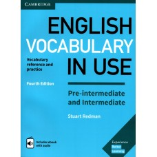English Vocabulary in Use Pre-Intermediate & Intermediate with eBook and audio