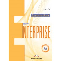 New Enterprise A2 - Elementary Grammar Book with Digibook App