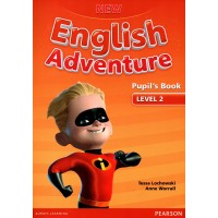 New English Adventure 2 Pupil's Book - (Pearson) with DVD