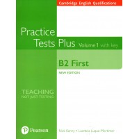 Cambridge English B2 First - (FCE) Practice Tests Plus 1 with Key