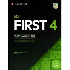 FIRST 4 with answers and audio downladable  - B2 - First Certificate