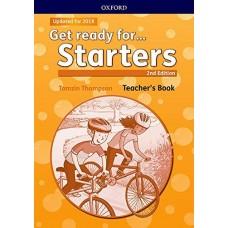 Get Ready for Starters (Oxford) Teacher's Book Updated for 2018 (cartea profesorului)