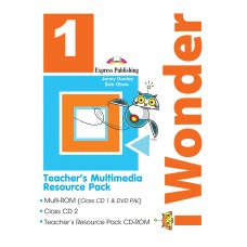 i Wonder 1 Teacher's Multimedia Resource Pack  A1 - Beginner
