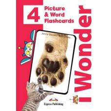 i Wonder 4 - Picture & Word Flashcards A1 - Beginner