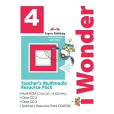 i Wonder 4 - Teacher's Multimedia Resource Pack A1 - Beginner