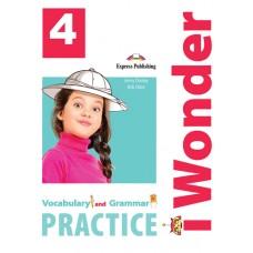 i Wonder 4 - Vocabulary & Grammar Practice A1 - Beginner