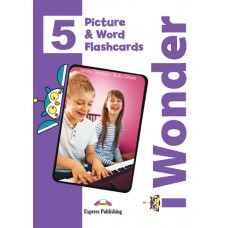 i Wonder 5 - Picture & Word Flashcards A2 - Elementary