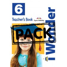 i Wonder 6 - Teacher's Book with posters