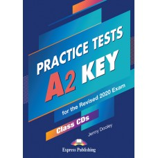 Practice Tests A2 Key - Class CDs (set of 5) for the Revised 2020 Exam