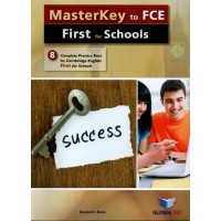 MasterKey to FCE - First for Schools (CEFR B2) Student's Book with audio CD and Answers