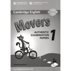 Cambridge English Movers 1 Answer Booklet