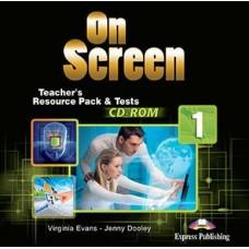On Screen 1 Teacher's Resource Pack & Tests CD-ROM - Beginner - A1/A2