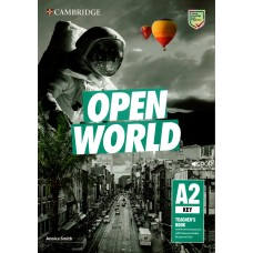 Open World A2 Key (KET) Teacher's Book with Downloadable Resource Pack