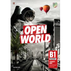 Open World Preliminary (PET) B1 Teacher's Book with Downloadable Resource Pack