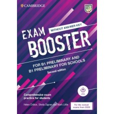 Exam Booster for Preliminary and Preliminary for Schools without Answer Key with Audio Comprehensive Exam Practice for Students