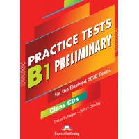 Practice Tests B1 Preliminary - Class CDs (set of 5) for the Revised 2020 Exam