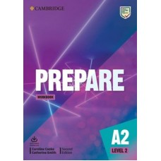Prepare A2 Level 2 (KEY for Schools) - Workbook with Audio Download