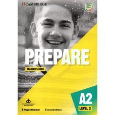 Prepare A2 Level 3  (KEY for Schools) - Teacher's Book with e-Source Access Code