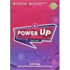 Power UP 5 Class Audio CDs (A2 - Key for Schools)