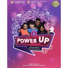 Power UP 5 Activity Book with Online Resources and Home Booklet (A2 - Key for Schools)