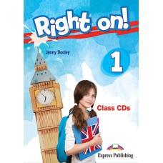 Right On ! 1 Class CDs - A1 Beginner