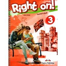 Right On ! 3 Teacher's Book  B1 - Pre-Intermediate