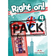 Right On ! 4 Workbook Student's Book B1 - Intermediate