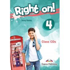 Right On ! 4 Class CDs  B1 - Intermediate