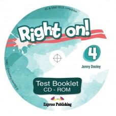 Right On ! 4 Test Booklet CD-ROM  B1 - Intermediate